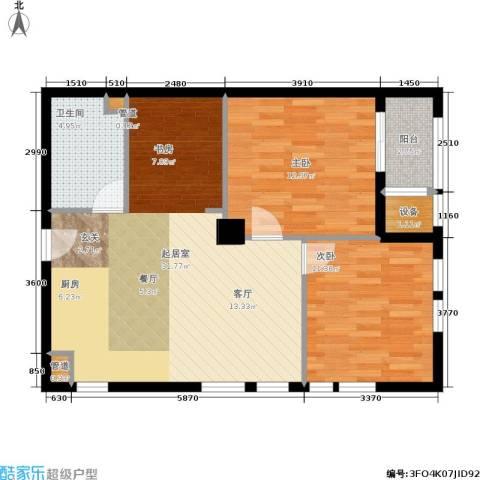 和美城2室0厅1卫0厨73.00㎡户型图