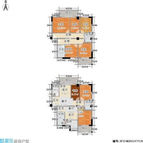 都会998室0厅4卫2厨159.99㎡户型图