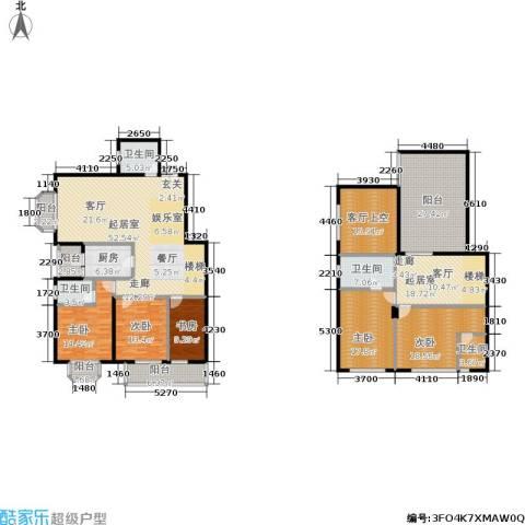 御之苑5室0厅4卫1厨316.00㎡户型图