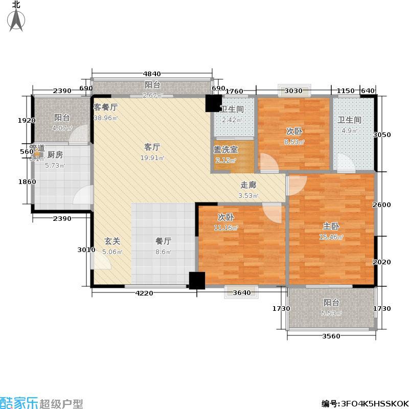 银泰大智嘉园128.18㎡银泰大智嘉园户型图D-1户型(8/10张)户型10室