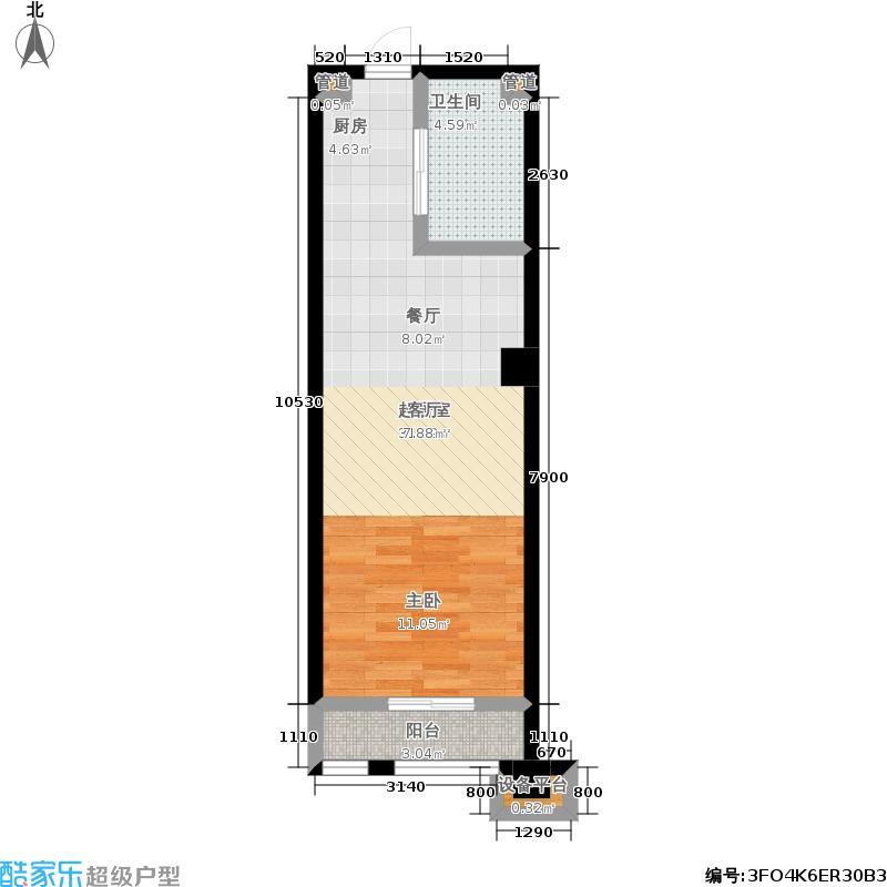 永佳苑永佳苑户型图一期46平米(3/20张)户型10室