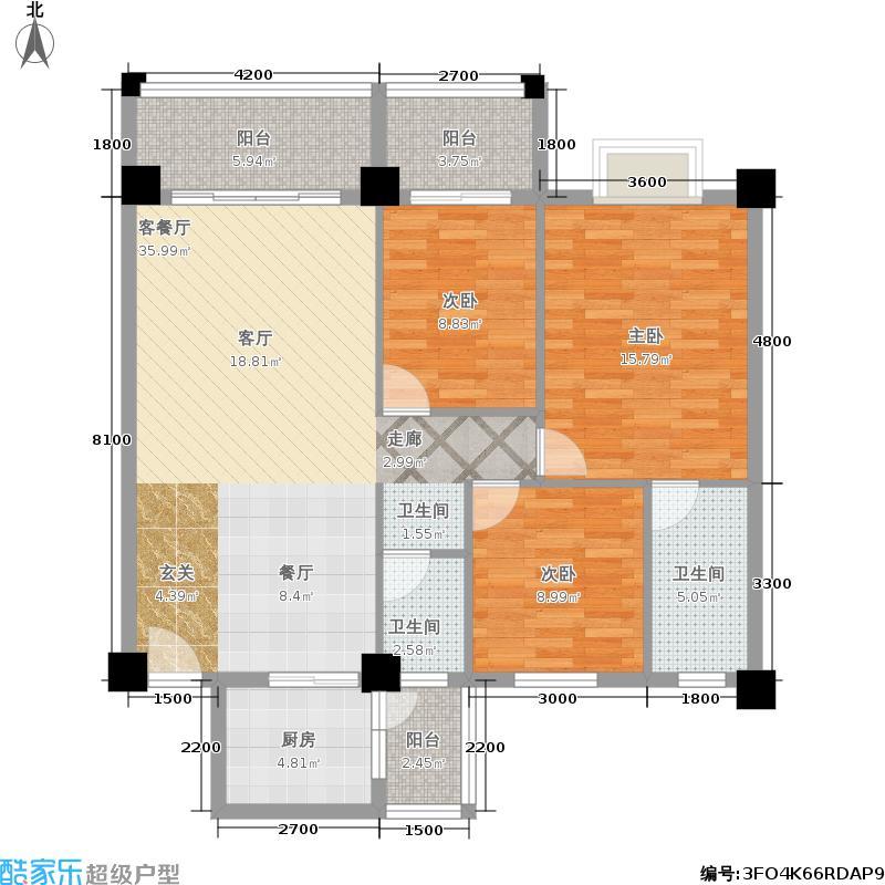 时代天骄时代天骄户型图(5/5张)户型10室