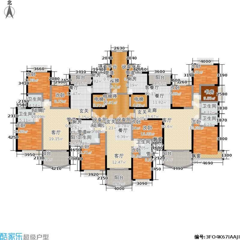 恒大美林湖恒大美林湖户型图(3/3张)户型10室