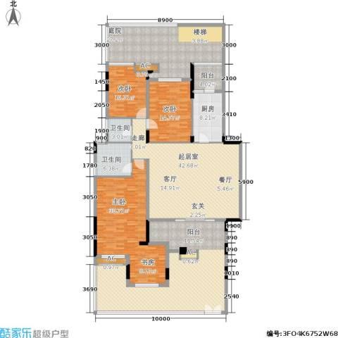 泽科港城国际锦云香缇3室0厅2卫1厨199.32㎡户型图