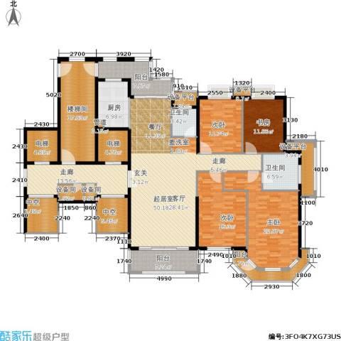半山御景4室0厅2卫1厨210.02㎡户型图