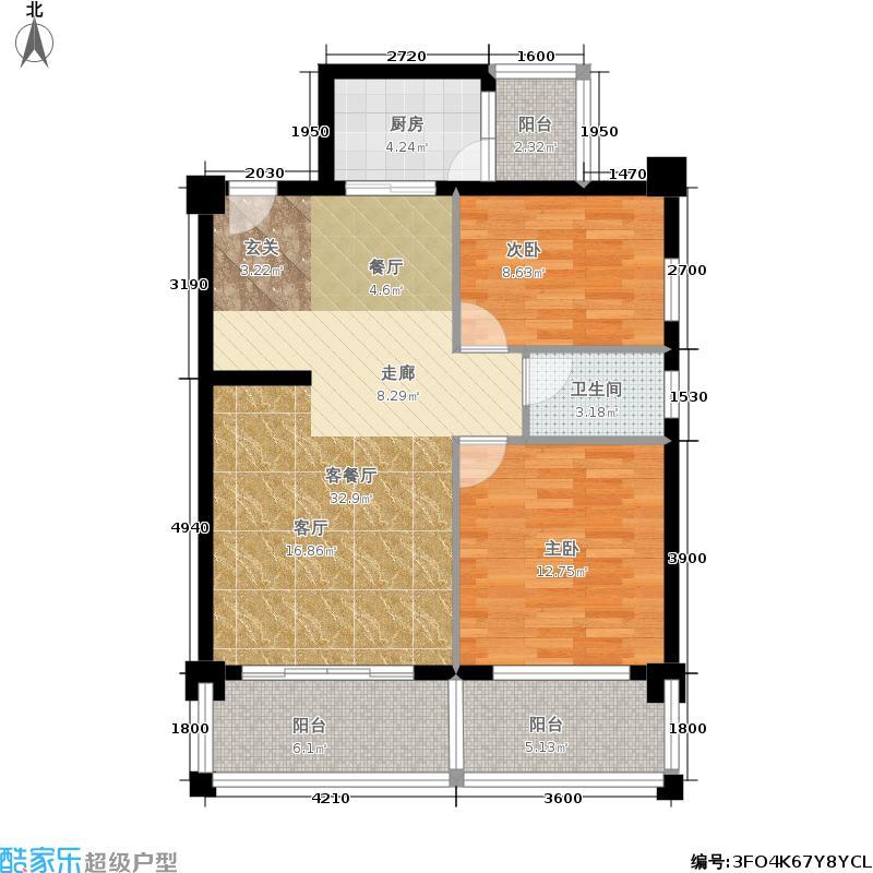 时代天骄时代天骄户型图(2/5张)户型10室