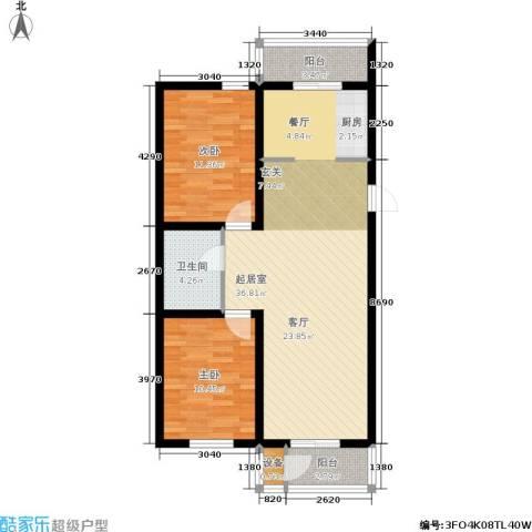 近水迎春园2室0厅1卫0厨80.16㎡户型图