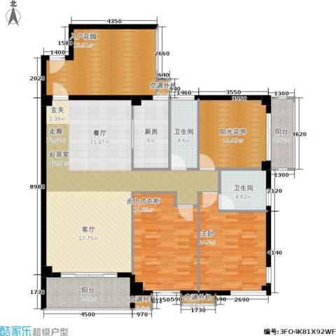 禹洲城上城1室0厅2卫1厨178.00㎡户型图