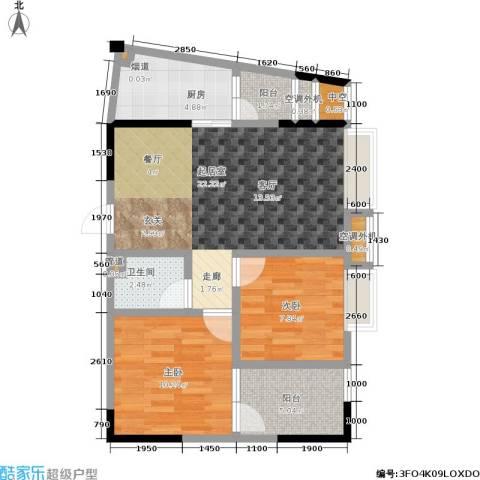 上方新人居2室0厅1卫1厨56.00㎡户型图