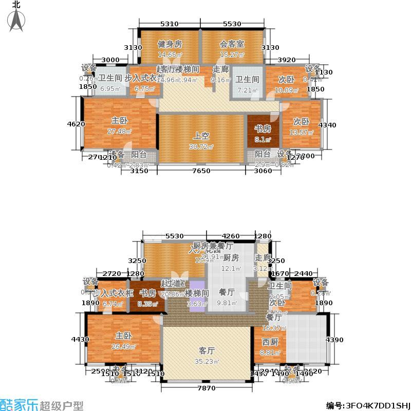中国铁建国际城户型7室3卫