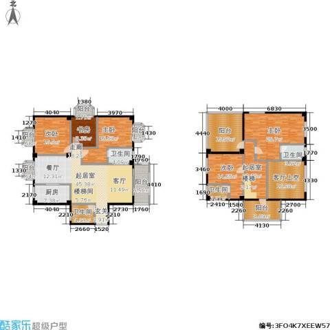 御之苑5室0厅4卫1厨306.00㎡户型图