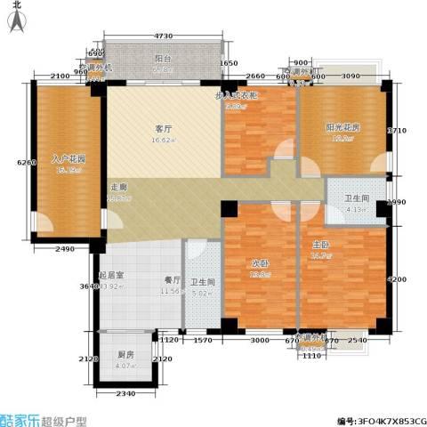 禹洲城上城2室0厅2卫1厨182.00㎡户型图