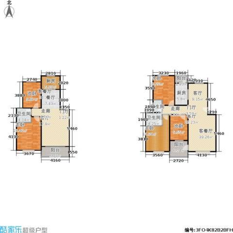 滨江美寓5室2厅3卫2厨167.15㎡户型图