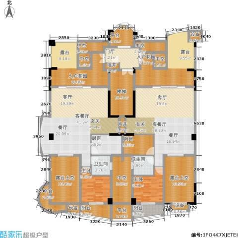 源昌鑫海湾2室2厅2卫2厨347.00㎡户型图