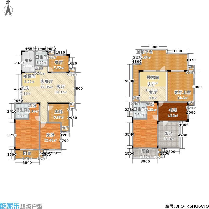 新世界新家园户型5室3厅3卫1厨