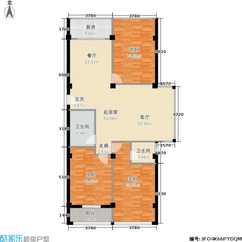 邻里花园邻里花园户型图140平米户型(1/4张)户型3室2厅2卫