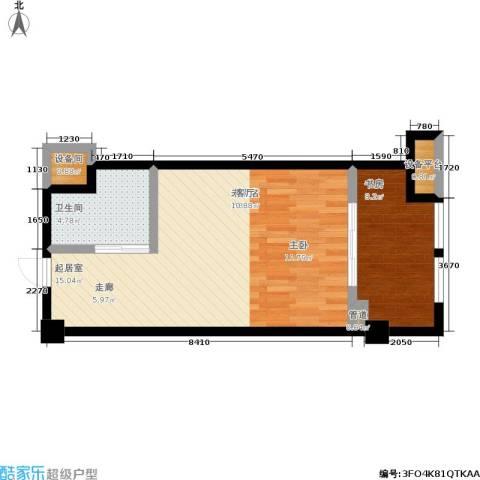 沧海御庭1室0厅1卫0厨51.00㎡户型图