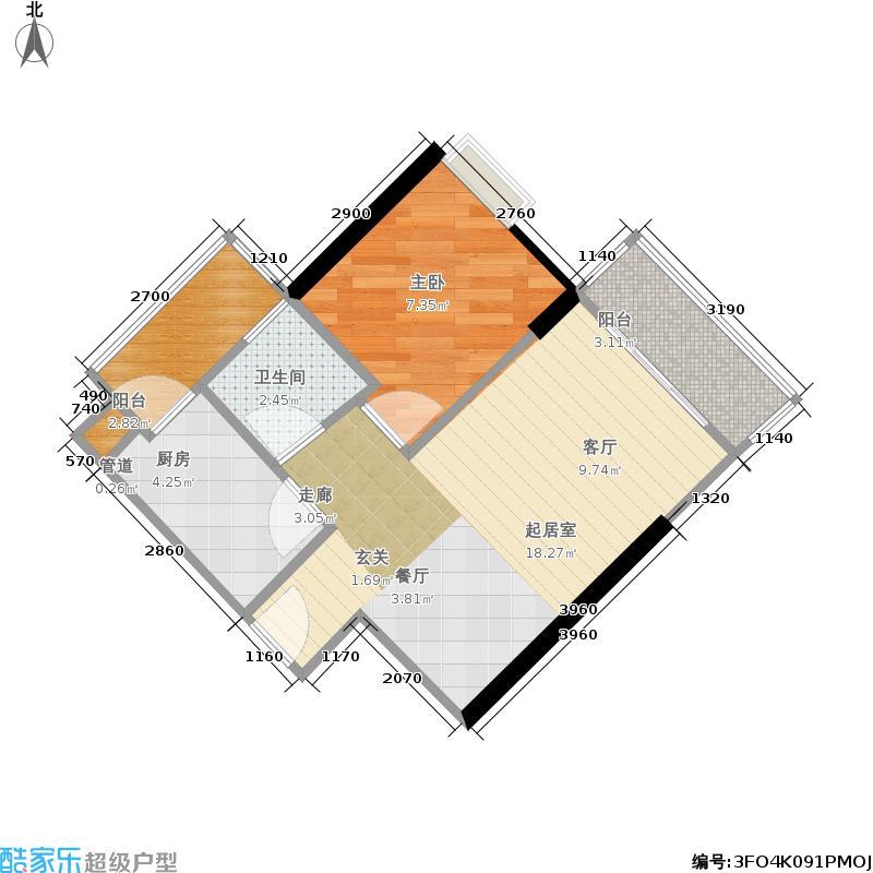 富力海洋广场户型