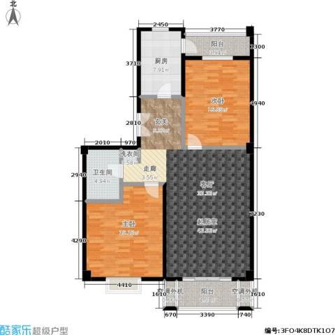 安德馨居2室0厅1卫1厨112.00㎡户型图