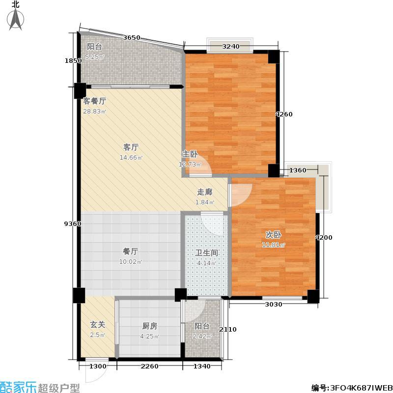 滨江丽景花园滨江丽景花园户型图(4/4张)户型10室