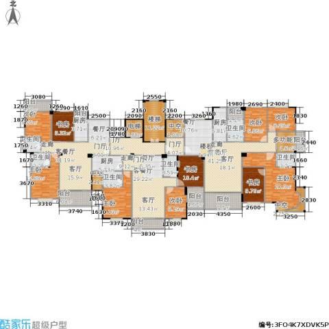 金利蓝湾新城9室3厅6卫3厨444.00㎡户型图