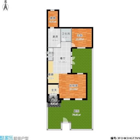 翠金湖美墅岛1室1厅1卫1厨227.00㎡户型图