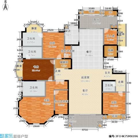 正商红河谷4室0厅4卫1厨320.00㎡户型图