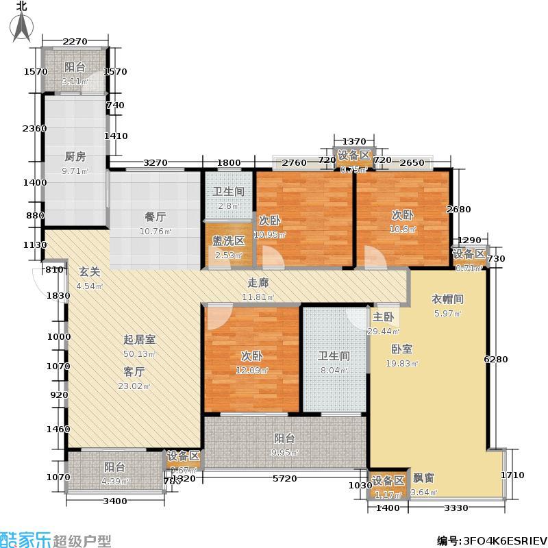 中海银海一号中海银海一号户型图F1户型(18/19张)户型10室