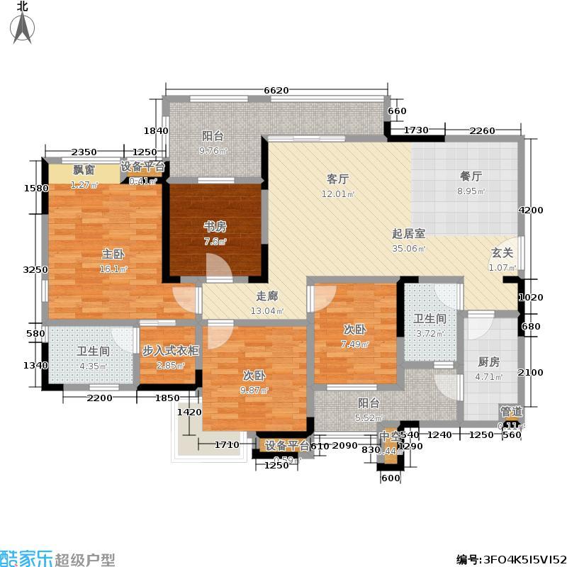 泽科港城国际102.13㎡泽科港城国际户型图泽科港城国际一期4号楼标准层1/4号房3室2厅2卫1厨102.13㎡(9/13张)户型3室2厅2卫