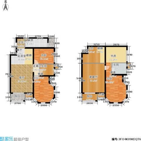 欧逸丽庭3室0厅2卫1厨177.00㎡户型图
