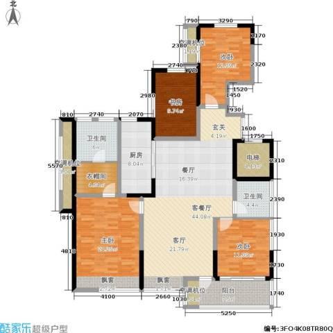 ART蓝海4室1厅2卫1厨139.00㎡户型图