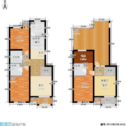 欧逸丽庭3室0厅3卫1厨167.00㎡户型图