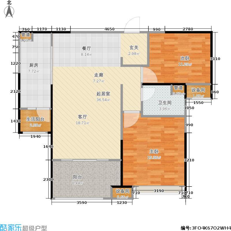 中海银海一号中海银海一号户型图B户型(11/19张)户型10室