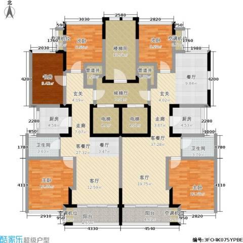 ART蓝海5室2厅2卫2厨172.07㎡户型图