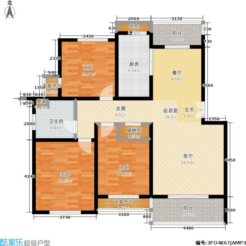 新创理想城新创理想城户型图多层C户型(13/27张)户型10室