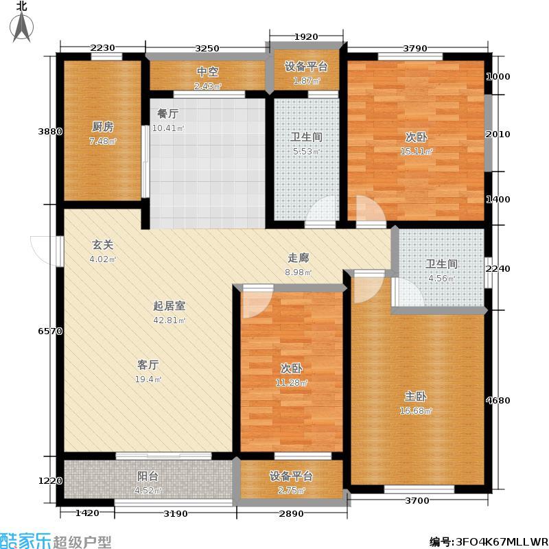 新创理想城130.10㎡新创理想城户型图C2户型(4/27张)户型10室