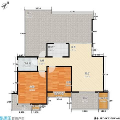 尼盛青年城2室1厅1卫0厨106.17㎡户型图