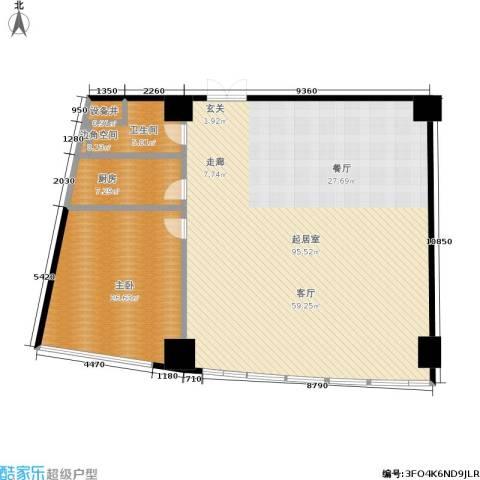 华府天地1室0厅1卫1厨134.93㎡户型图