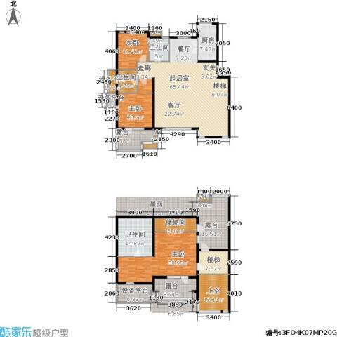 六宅臻品3室0厅3卫1厨224.85㎡户型图