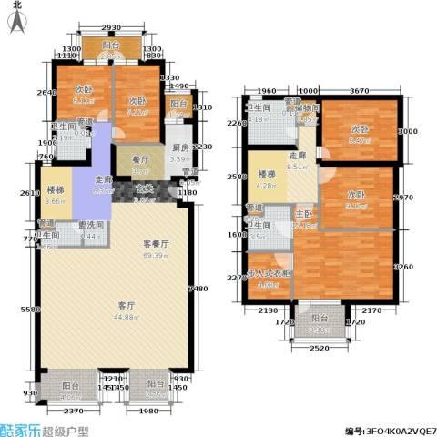 新奥洋房5室1厅4卫0厨246.00㎡户型图