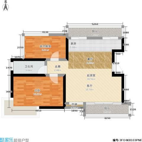 新港名尚花园1室0厅1卫0厨93.00㎡户型图