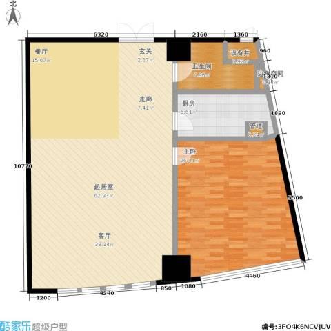 华府天地1室0厅1卫1厨112.00㎡户型图
