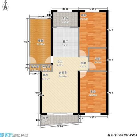 金色阳光花园3室0厅0卫0厨93.00㎡户型图
