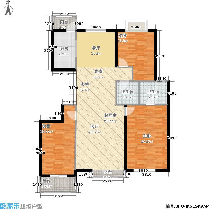 银丰花园银丰花园户型图银丰花园d1三室两厅(29/31张)户型3室2厅2卫