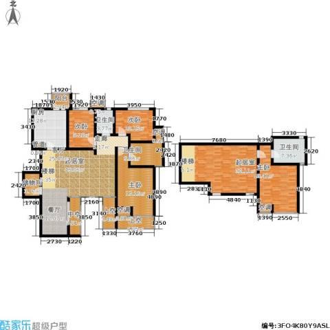中齐未来城4室0厅3卫1厨209.00㎡户型图