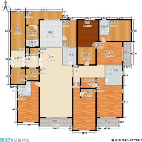 柳逸花苑4室1厅6卫1厨499.00㎡户型图