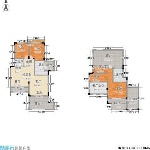 金科天湖小镇3室0厅2卫1厨194.37㎡户型图