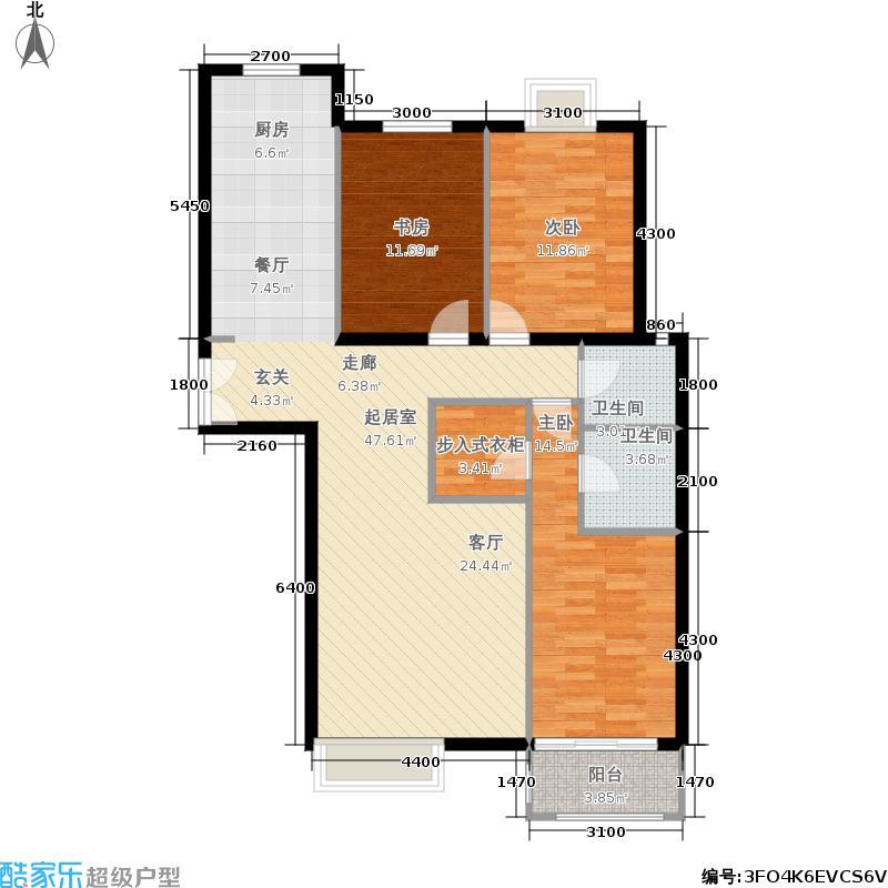 银丰花园银丰花园户型图G2户型(4/9张)户型3室2厅2卫