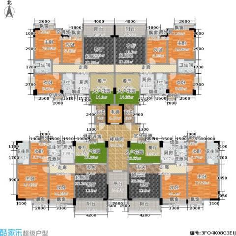 金叶阳光新城9室0厅8卫4厨363.40㎡户型图