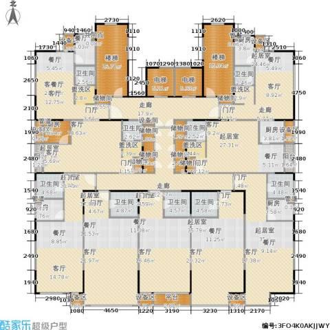 万科・深蓝2厅9卫5厨589.00㎡户型图
